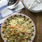 Couscous Salad with Dates, Nuts and Apricots